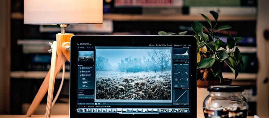 PDF erstellen für Online-Bewerbung: Laptop