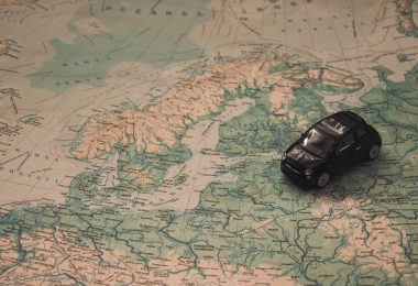 Häufige Stellenwechsel im Lebenslauf: Landkarte