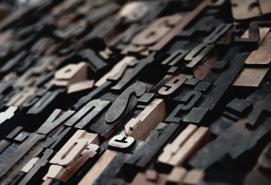 Rechtschreibfehler - Hilfe bei der Bewerbung: Einzelne Druckbuchstaben