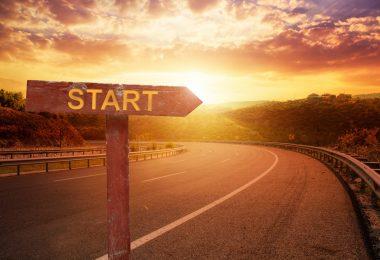 Einleitung ins Anschreiben - Start einer Reise
