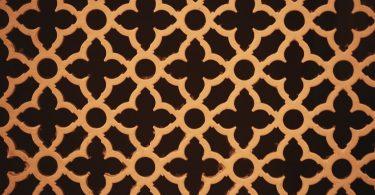 Musterbewerbungen statt eigener: Bild eines braun-goldenen Musters