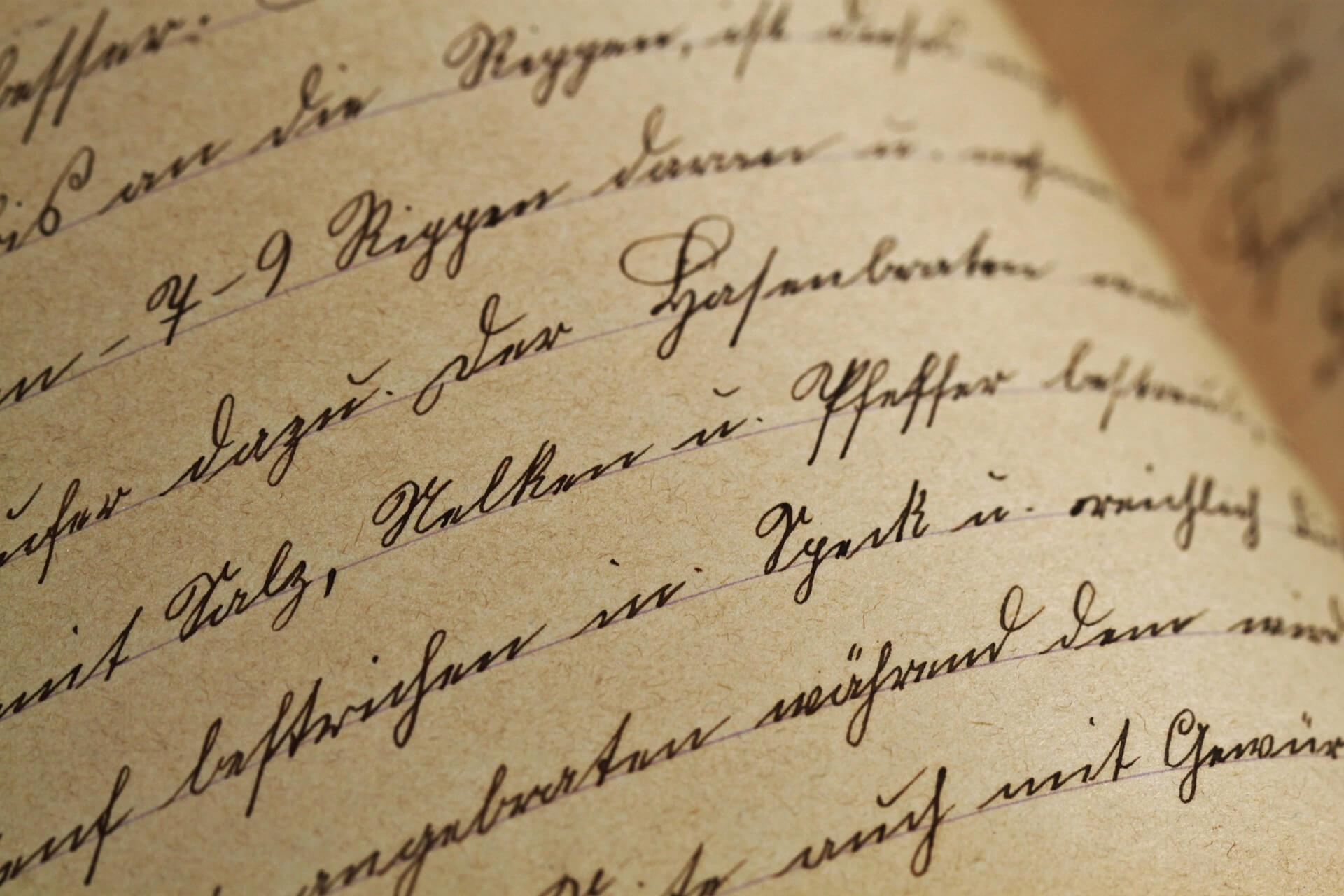 Handschriftprobe verlangt - was soll ich schreiben? | Schneller zur Stelle