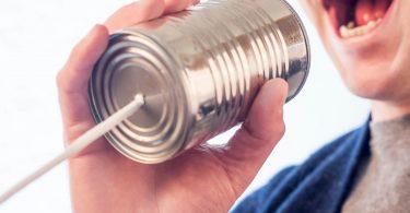 Networking - Aber richtig! Teil 1 - XING: Mann mit Dosentelefon